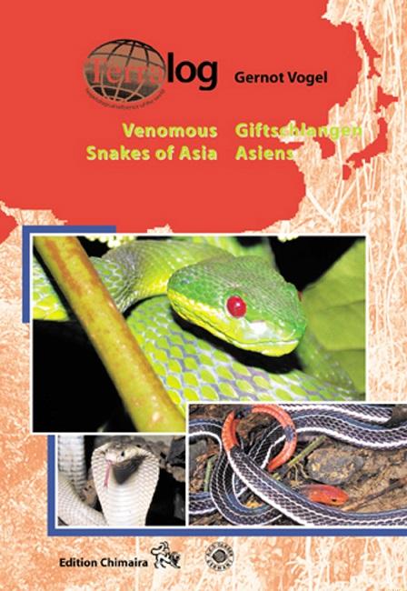 Aqualog Giftschlangen Asiens Venomous Snakes of Asia