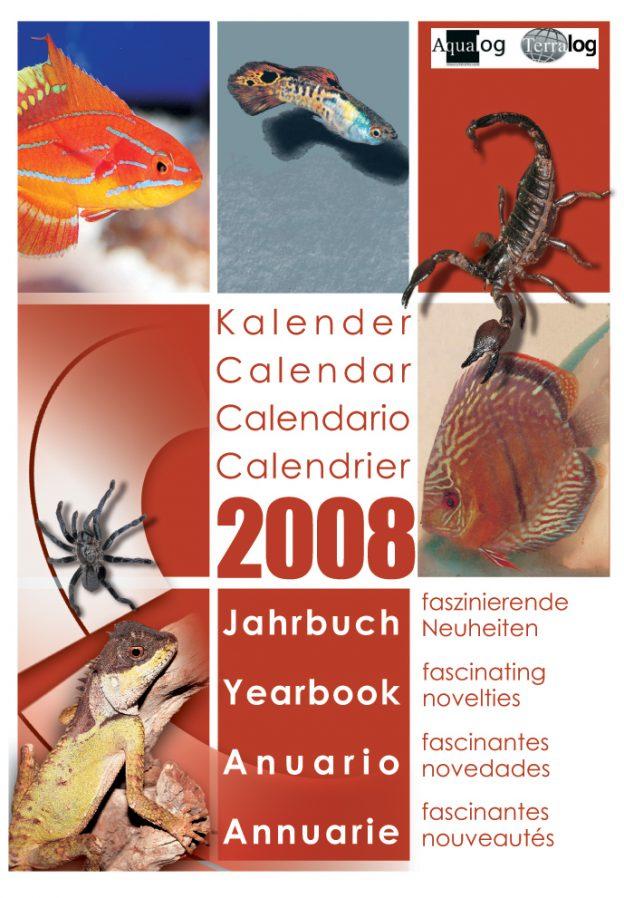 Aqualog Kalender Jahrbuch 2008 Calendar Yearbook 2008