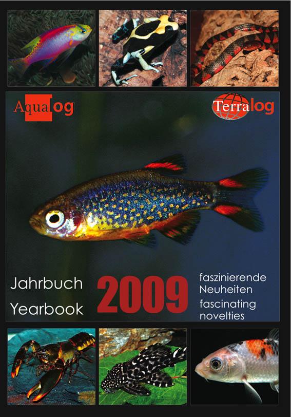Aqualog Kalender Jahrbuch 2009 Calendar Yearbook 2009
