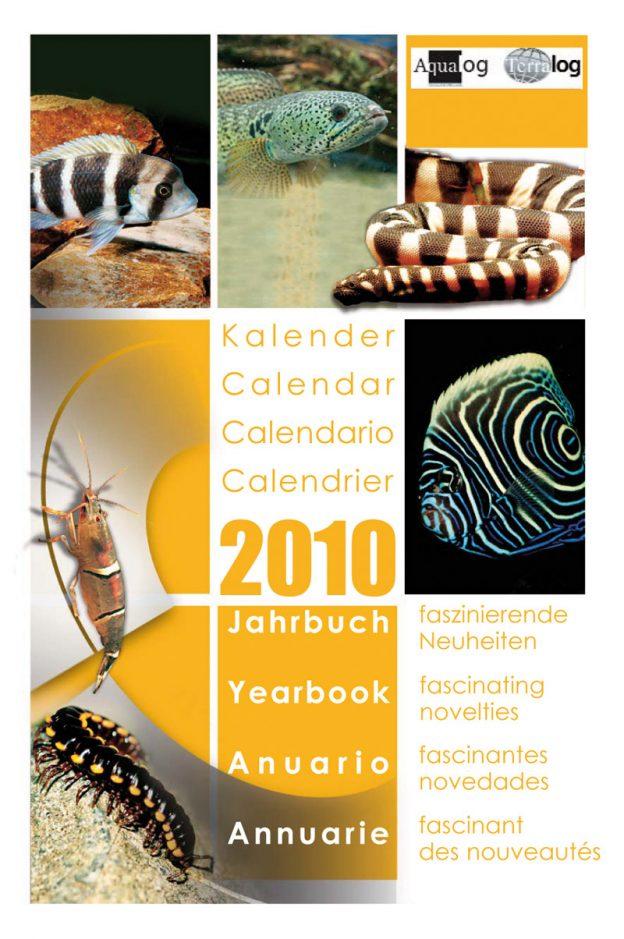 Aqualog Kalender Jahrbuch 2010 Calendar Yearbook 2010