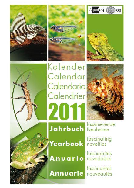 Aqualog Kalender Jahrbuch 2011 Calendar Yearbook 2011