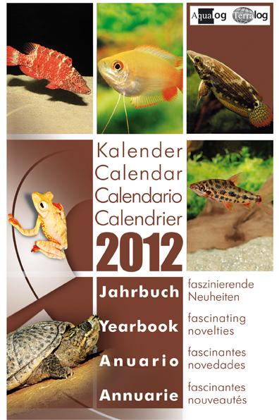 Aqualog Kalender Jahrbuch 2012 Calendar Yearbook 2012