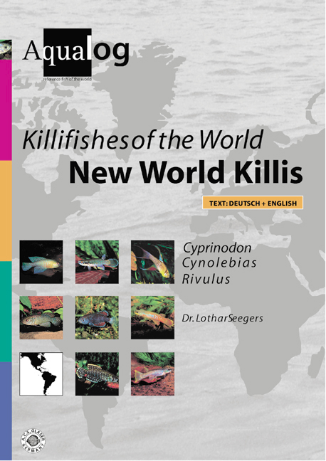 Aqualog Killifishes Of The World New World Killis III