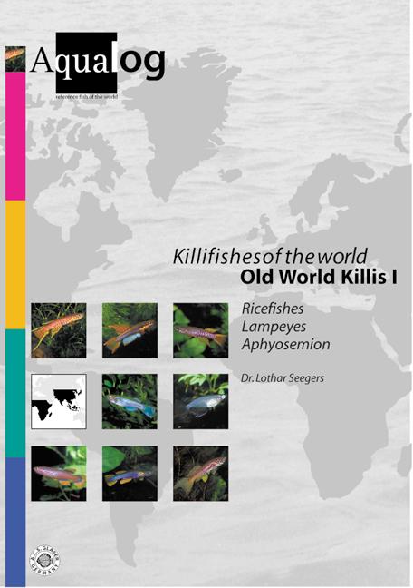 Aqualog Killifishes Of The World Old World Killis I