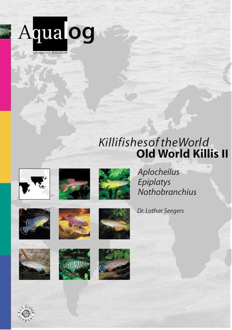 Aqualog Killifishes of the World Old World Killis II