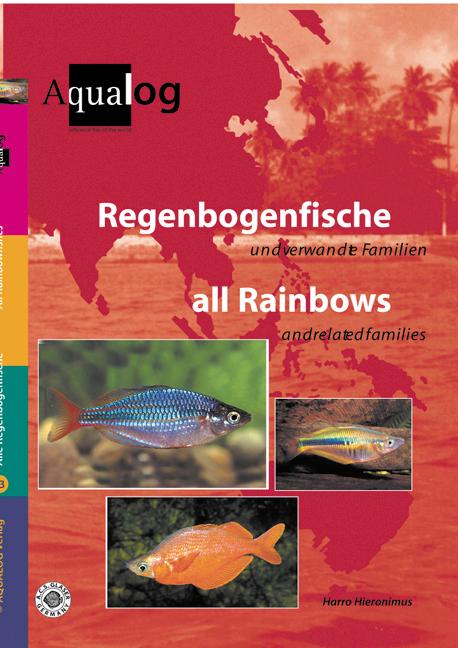 Aqualog Regenbogenfische und verwandte Familien All Rainbows