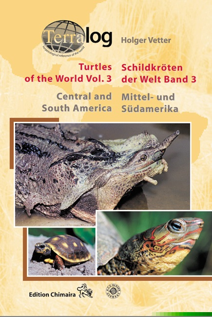 Aqualog Schildkröten der Welt Bd. 3 Turtles of the World Vol. 3