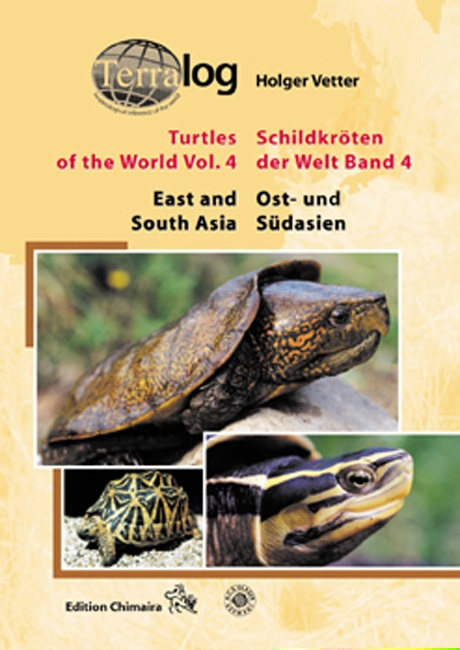 Aqualog Schildkröten der Welt Bd. 4 Turtles of the World Vol. 4