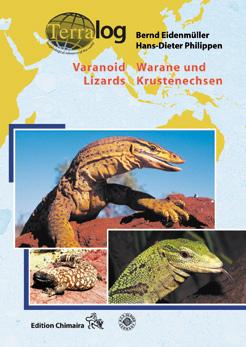 Aqualog Varanoid Lizards Warane und Krustenechsen