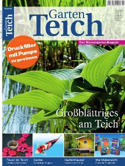 Gartenteich aktuell 2 2012 for Gartenteich muscheln