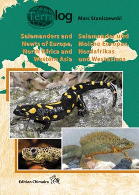 Aqualog Salamander und Molche Europas Nordafrikas und Westasie