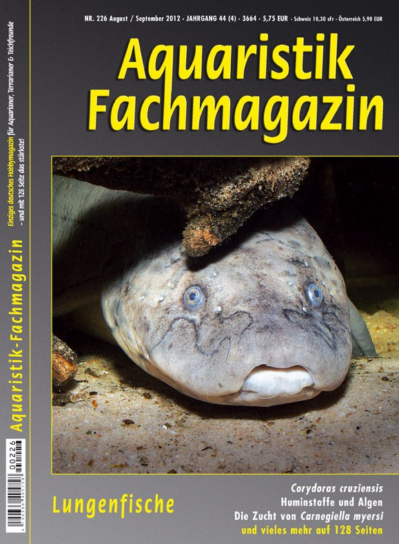 Aquaristik Fachmagazin 226 (Aug/Sep 2012)