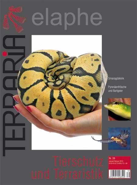 Terraria 39 – Tierschutz und Terraristik Januar/Februar 2013