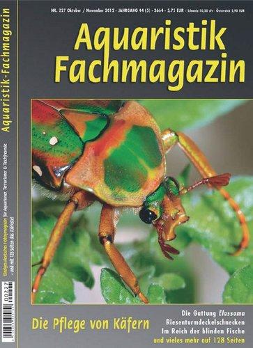 Aquaristik Fachmagazin 227 (Okt/Nov 2012)