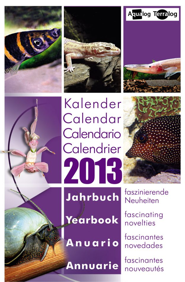 Aqualog Kalender Jahrbuch 2013