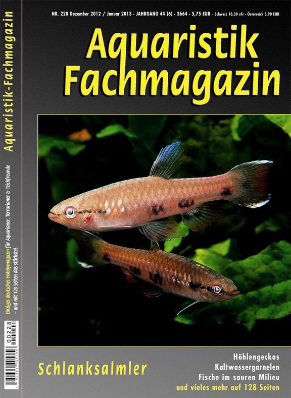 Aquaristik Fachmagazin 228 Dez2012/Jan2013