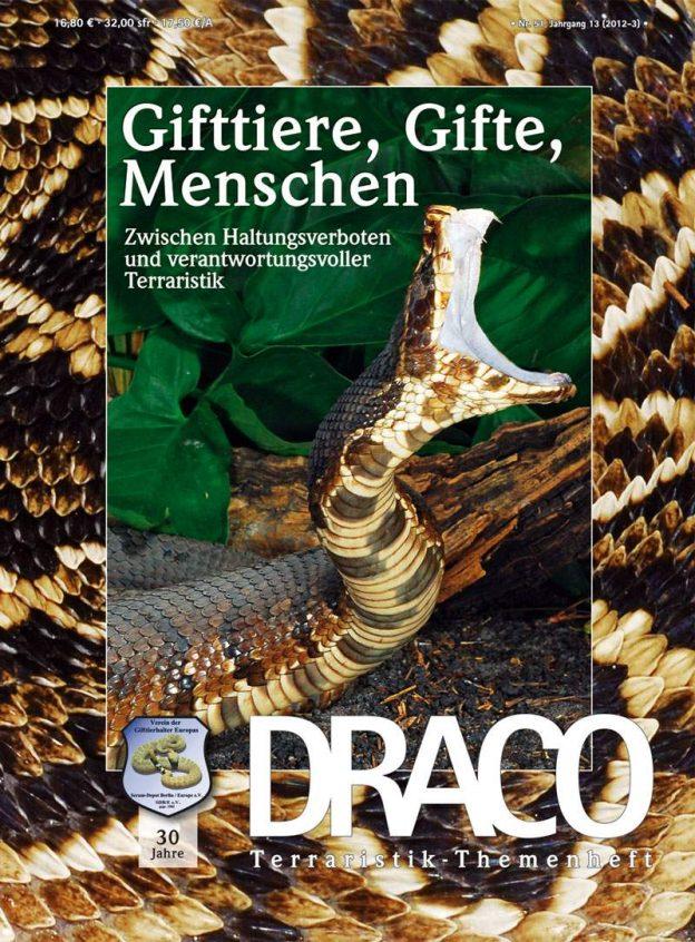 DRACO 51 – Gifttiere, Gifte, Menschen