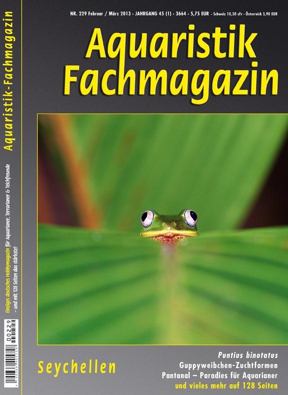 aquaristik fachmagazin 229 Feb Maerz 2013