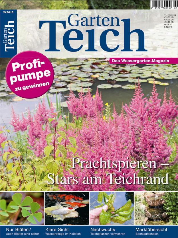 Gartenteich aktuell 2 2013 for Muscheln im gartenteich