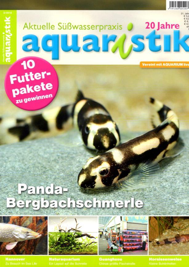 Aquaristik/Aquarium live 3/2013