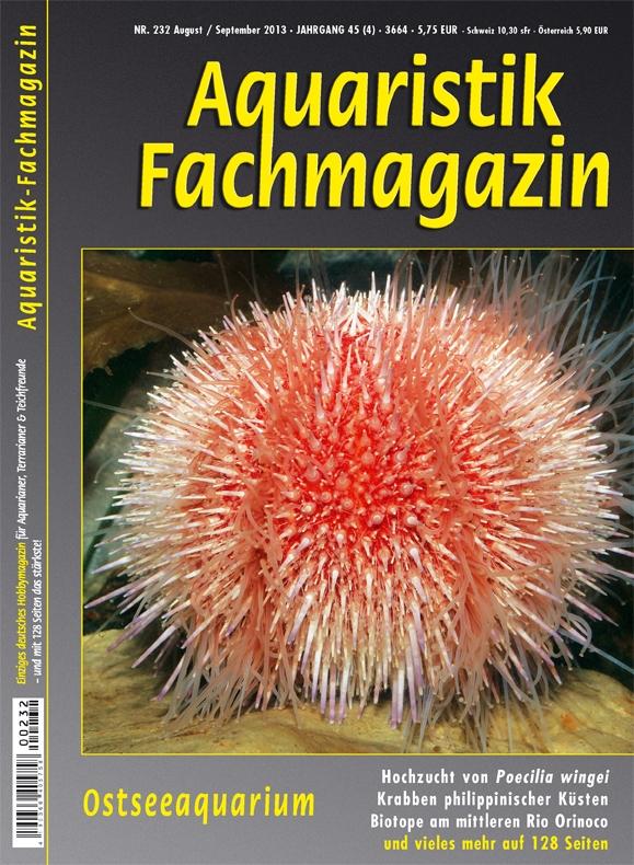 Aquaristik Fachmagazin 232 August/September 2013