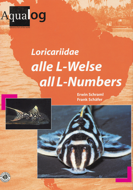 Aqualog Loricariidae alle L-nummern / AllL-numbers