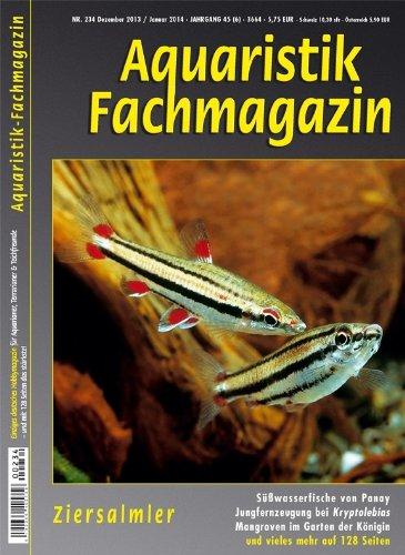 Aquaristik Fachmagazin 234 Dezember 2013/Januar 2014