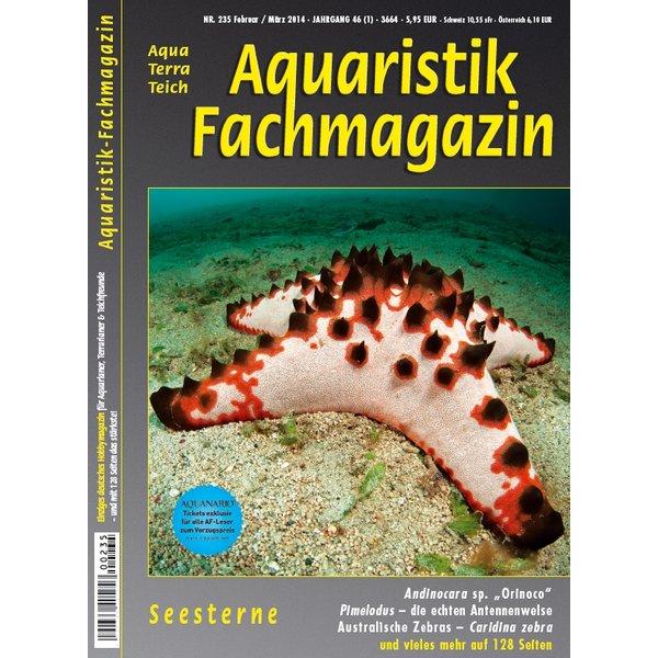 aquaristik fachmagazin 235 februar maerz 2014