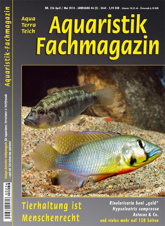 Aquaristik Fachmagazin 236 April/Mai 2014