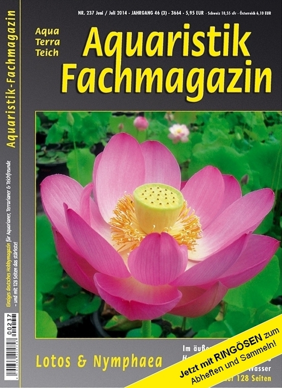 Aquaristik Fachmagazin 237 Juni/Juli 2014