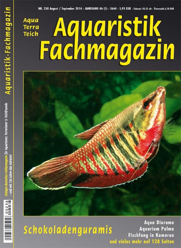 Aquaristik Fachmagazin 238 Juli/August 2014
