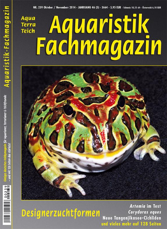 Aquaristik Fachmagazin 239 Oktober/November 2014