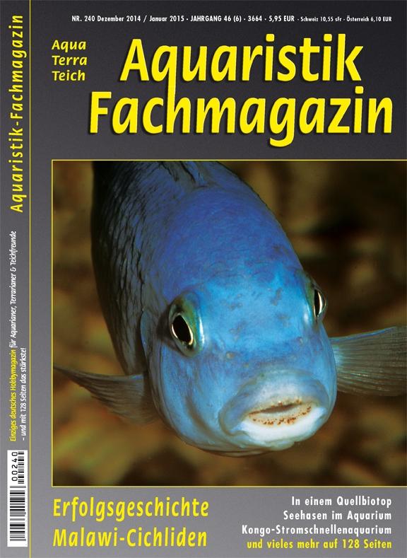 Aquaristik Fachmagazin 240 Dezember 2014/Januar 2015