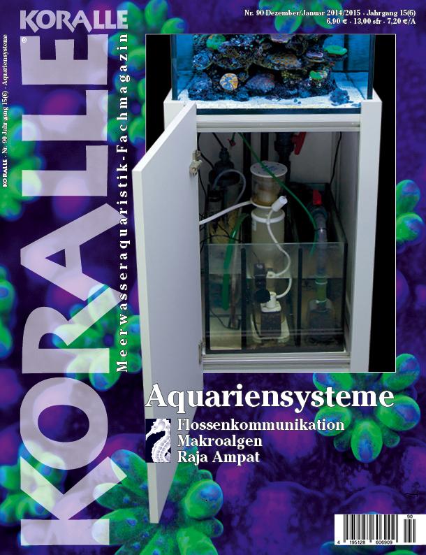 Koralle 90 – Aquariensysteme Dezember 2014 / Januar 2015