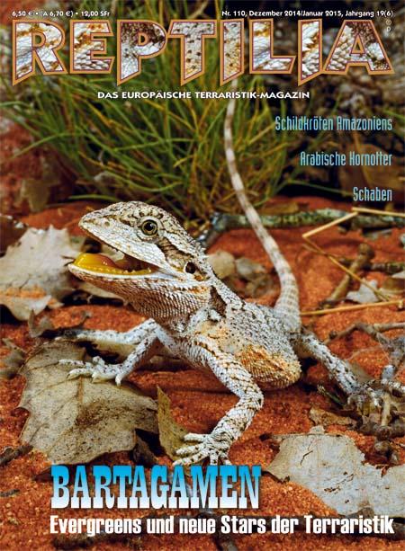 Reptilia 110 – Bartagamen Dezember 2014 / Januar 2015