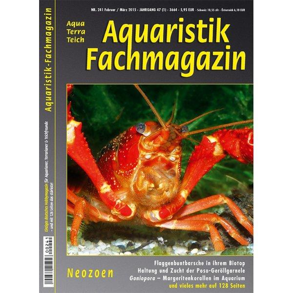 aquaristik fachmagazin 241 februar maerz 2015