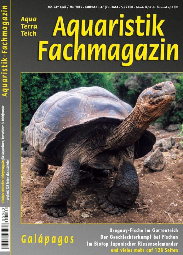 Aquaristik Fachmagazin 242 April/Mai 2015