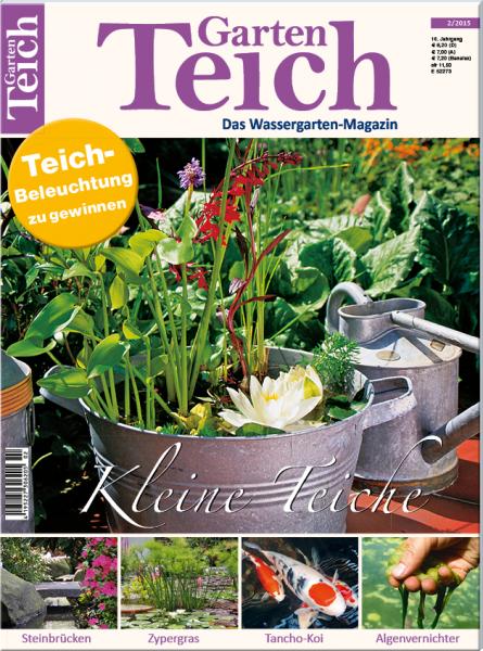 Gartenteich aktuell 2 2015 for Gartenteich muscheln