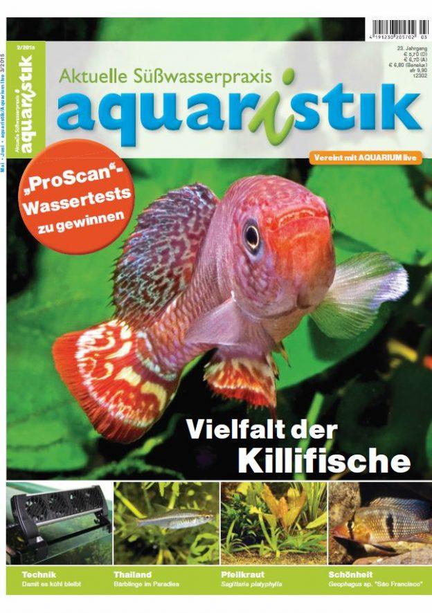 Aquaristik/Aquarium live 3/2015