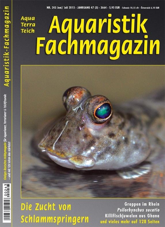 Aquaristik Fachmagazin 243 Juni/Juli 2015
