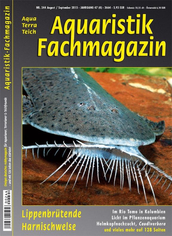 Aquaristik Fachmagazin 244 August/September 2015