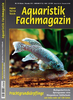 Aquaristik Fachmagazin 245 - Oktober/November 2015