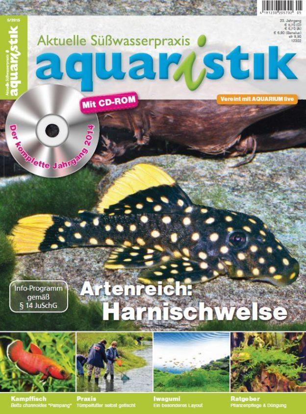 Aquaristik/Aquarium live 5/2015