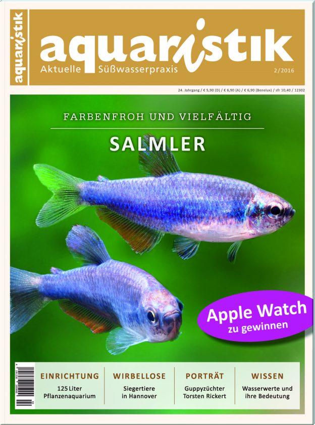 Aquaristik – aktuelle Süßwasserpraxis 2/2016