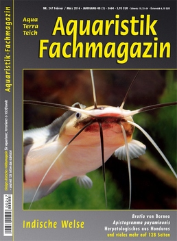 Aquaristik Fachmagazin 247 - Februar/März 2016