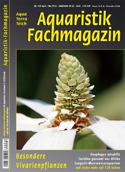 Aquaristik-Fachmagazin 248 April/Mai 2016