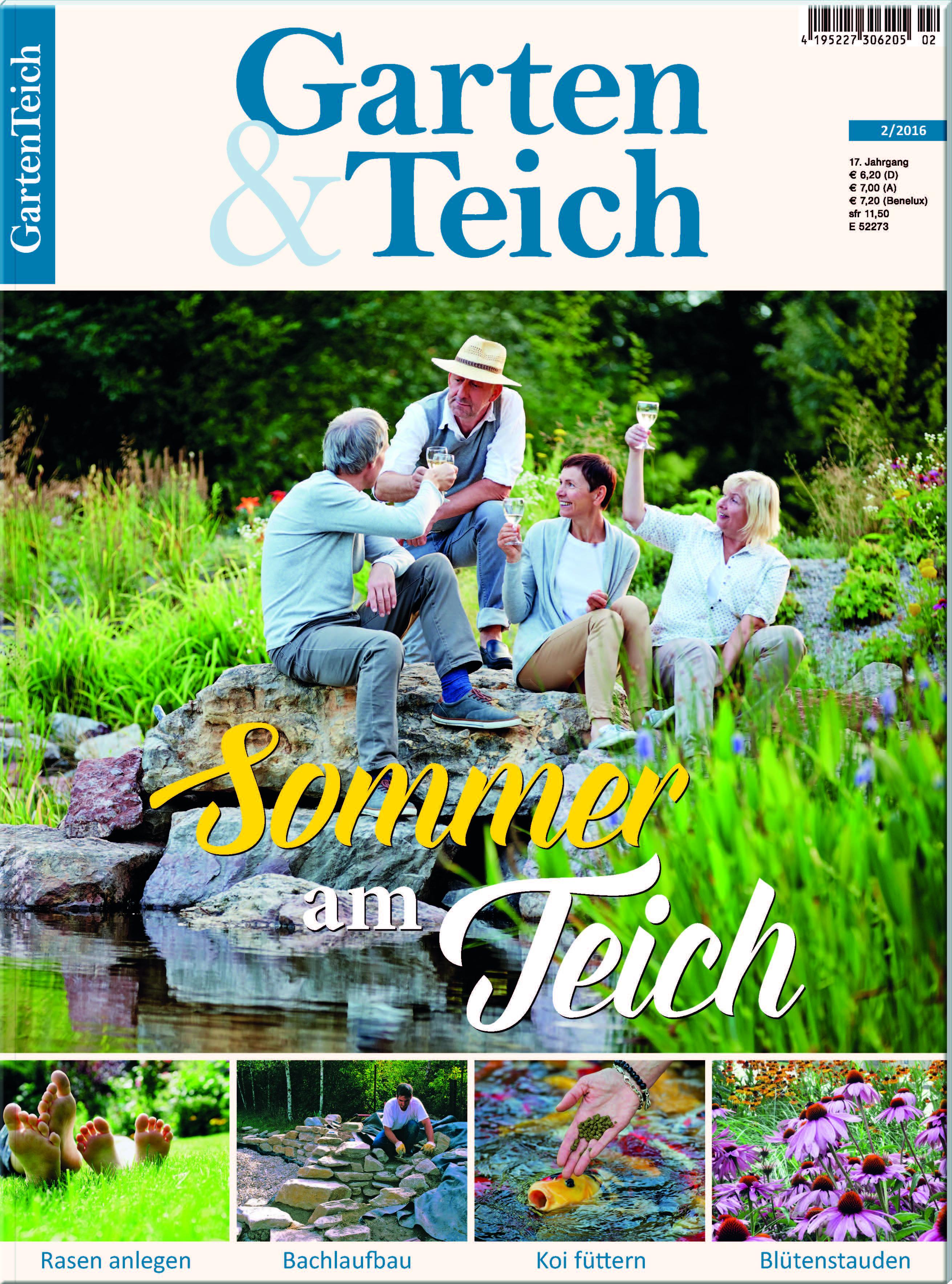 Garten teich 2 2016 for Muscheln im gartenteich