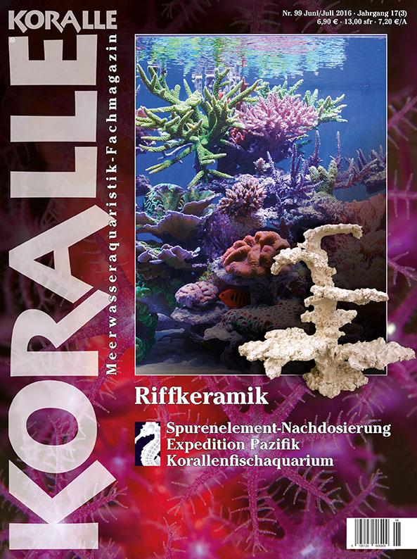 Koralle 99 - Riffkeramik (Juni/Juli 2016)