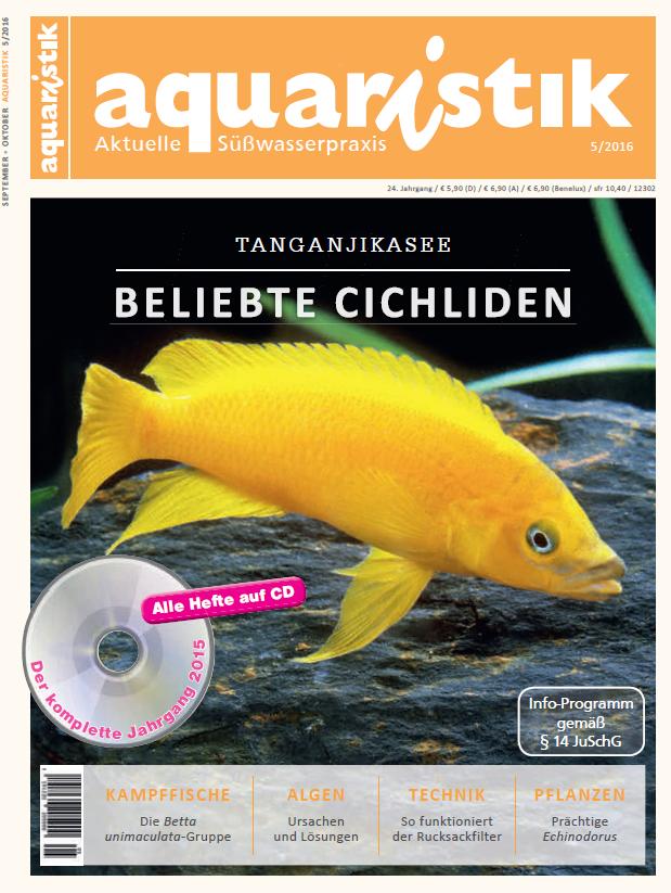 Neue zeitschriften im oktober 2016 for Fischkrankheiten teich goldfische