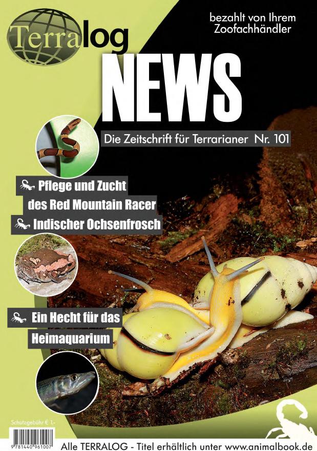 Aqualog news 101